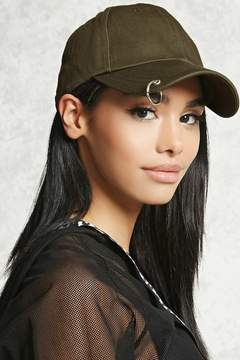 Forever 21 Ring Pierced Dad Cap