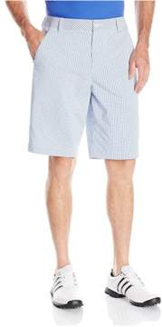 Puma Mens Plaid Golf Athletic Walking Shorts Blue 28