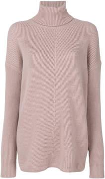 Agnona cashmere roll-neck jumper