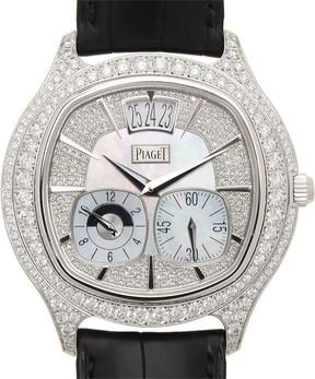 Piaget Black Tie Emperador Cushion Watch
