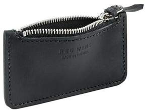 Red Wing Shoes Shoes Leather Zipper Pouch in Black