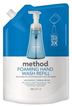 Method Products Foaming Hand Soap Refill Sea Minerals - 28oz