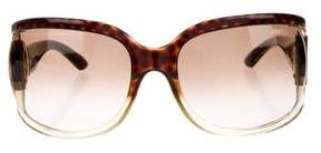 Jimmy Choo Wrap Around Tinted Sunglasses