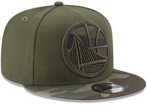 New Era Golden State Warriors Operation Camo 9FIFTY Snapback Cap