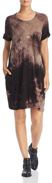 ATM Anthony Thomas Melillo Tie-Dye T-Shirt Dress