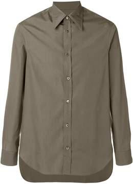 Maison Margiela extended hem classic shirt