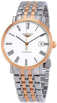 Longines Elegant Automatic White Dial Men's Watch