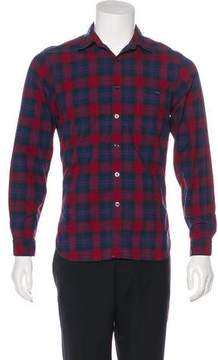 Todd Snyder Plaid Woven Shirt