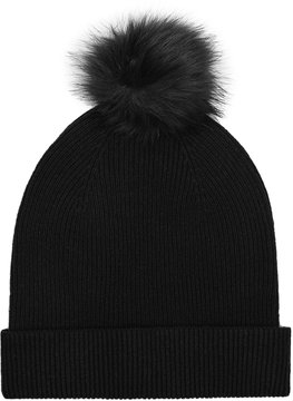 Reiss Luli Merino Bobble Hat