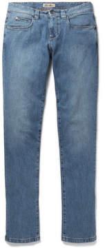 Loro Piana Tasche Slim-Fit Washed-Denim Jeans