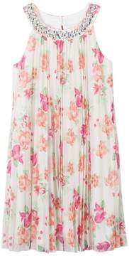 Speechless Girls 7-16 Floral Pleated Dress