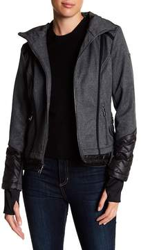 GUESS Soft Shell Exposed Layer Coat