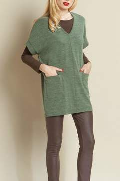 Clara Sunwoo Sweater Pocket Tunic