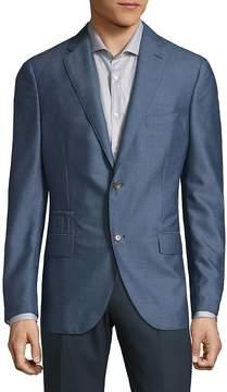 Luciano Barbera Men's Notch Lapels Cashmere Sportcoats