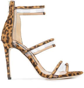 Sergio Rossi PVC trim sandals