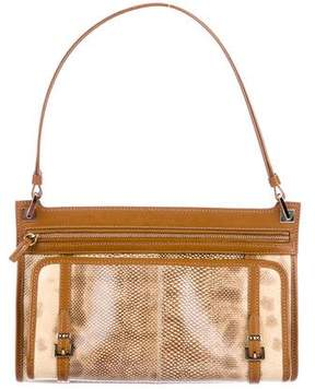 Tod's Leather-Trimmed Karung Bag