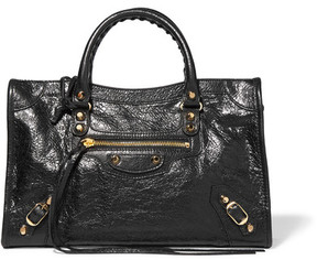Balenciaga - Classic City Small Textured-leather Tote - Black