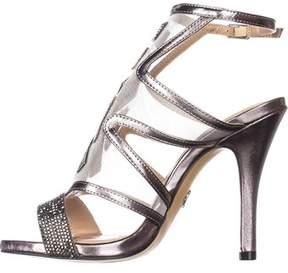 Thalia Sodi Womens Regalo Open Toe Ankle Strap Classic Pumps.