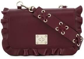 RED Valentino RED(V) frilled crossbody bag