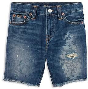 Polo Ralph Lauren Boys' Denim Cut-Off Shorts - Little Kid