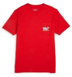 Vineyard Vines Toddler's, Little Boy's & Boy's Waving Flag Cotton Shirt