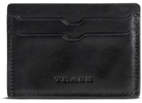 Trask Men's Colton Card Case - Black