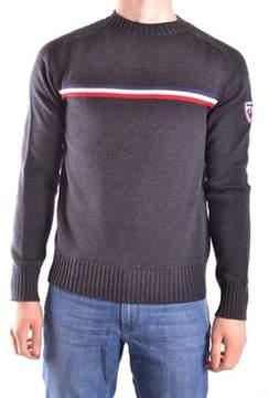 Rossignol Men's Grey Wool Sweater.
