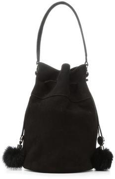 Women's DORINDA1 - Kid Suede Bucket Bag