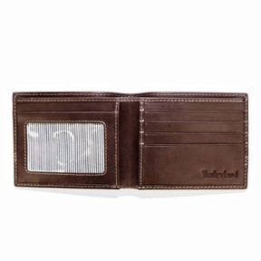 Timberland Leather Billfold & Key FOB Gift Set