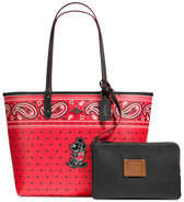 Disney Mickey Mouse Reversible Bandana Print City Tote by COACH