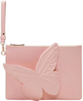 Sophia Webster Pink Flossy Butterfly Pouch