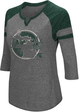 Colosseum Women's Michigan State Spartans Tee