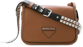 Prada flap shoulder bag