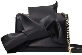 N°21 N.21 Small Bow Black Leather Bag