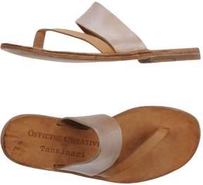 Officine Creative for TASSINARI Toe strap sandals