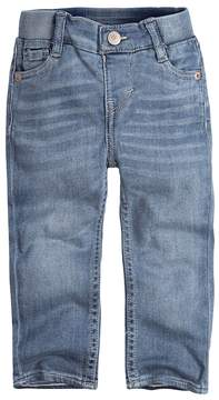 Levi's Baby Girl Ribbed Waistband Skinny Jeans