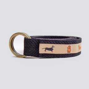 Blade + Blue Dachshund Belt by One Magnificent Beast