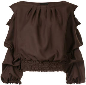 Aula pleat detail top