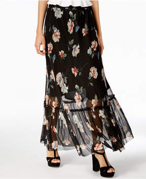 American Rag Juniors' Floral-Print Maxi Skirt, Created for Macy's