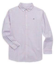 Vineyard Vines Toddler's, Little Boy's& Boy's Winding Bay Gingham Shirt