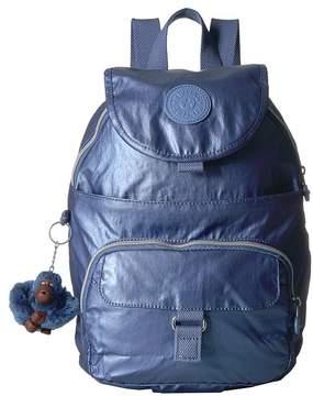 Kipling Queenie Bags - METALLIC SCUBA DIVER BLUE - STYLE