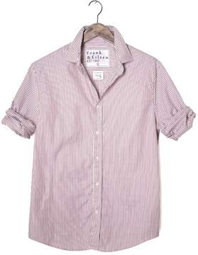 Frank And Eileen Mens Paul Striped Italian Oxford Button Down Shirt