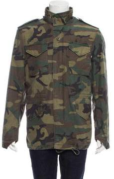 Alpha Industries Who's Your Daddy Camo Jacket w/ Tags