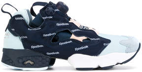 Reebok logo print sneakers