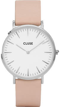 Cluse CL18231 La Bohème stainless steel and leather watch