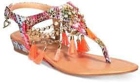 Thalia Sodi Womens Zella Split Toe Casual Slingback Sandals.