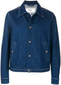 Ami Alexandre Mattiussi snap button jacket