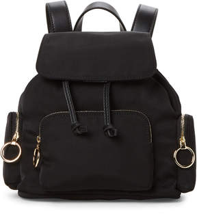 French Connection Black Henley Small Backpack