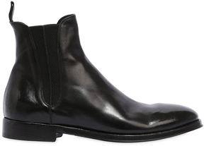 Alberto Fasciani Polished Leather Boots