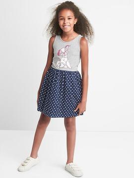 Gap GapKids | Disney 101 Dalmatians mix-fabric dress